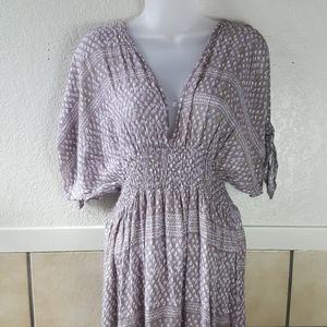 Lovestitch deep V-neck lightweight Maxi Dress  S/M